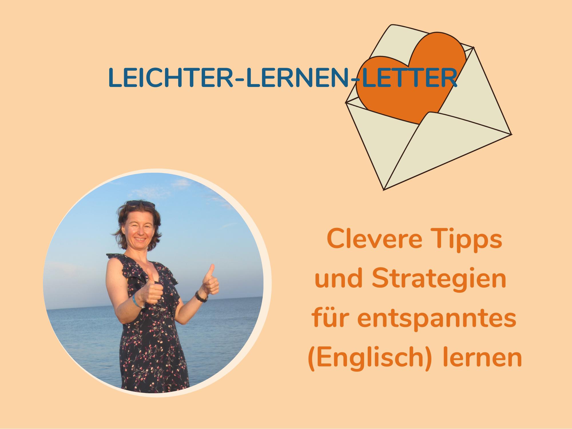 Mein Newsletter für leichteres Englisch lernen